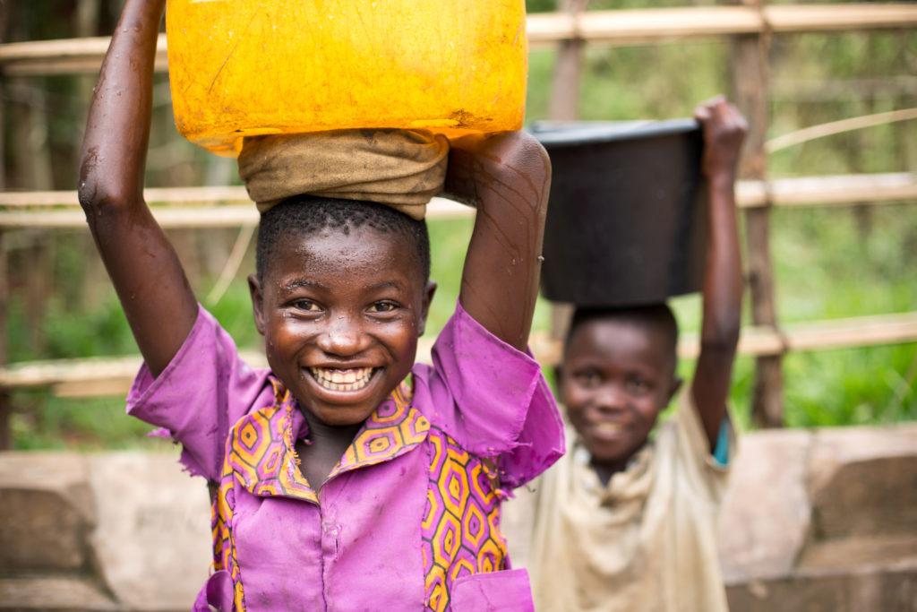 vand congo unicef vandpost rent drikkevand