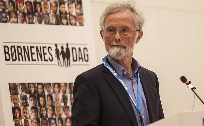 Per Schultz Jørgensen fik UNICEF Prisen i 2015.