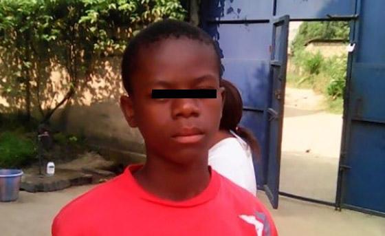 Afrikansk dreng