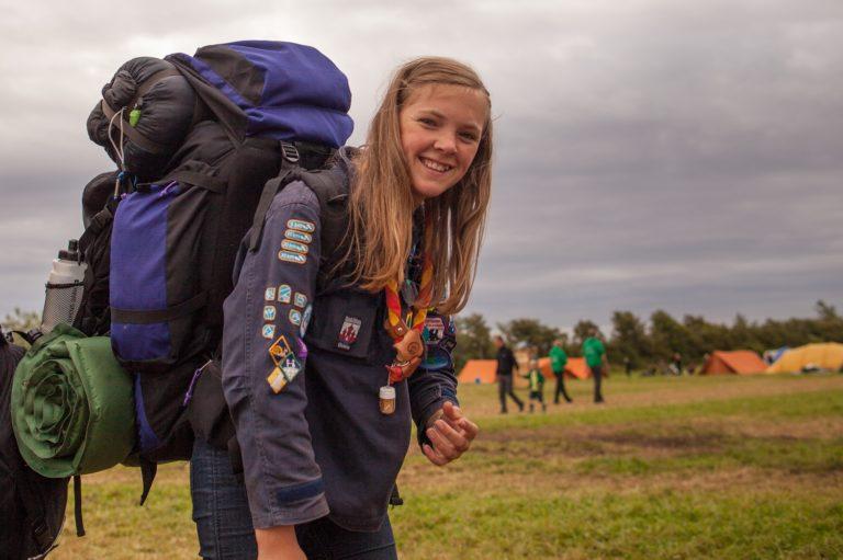 Hjemrejse fra Spejdernes Lejr 2012.
