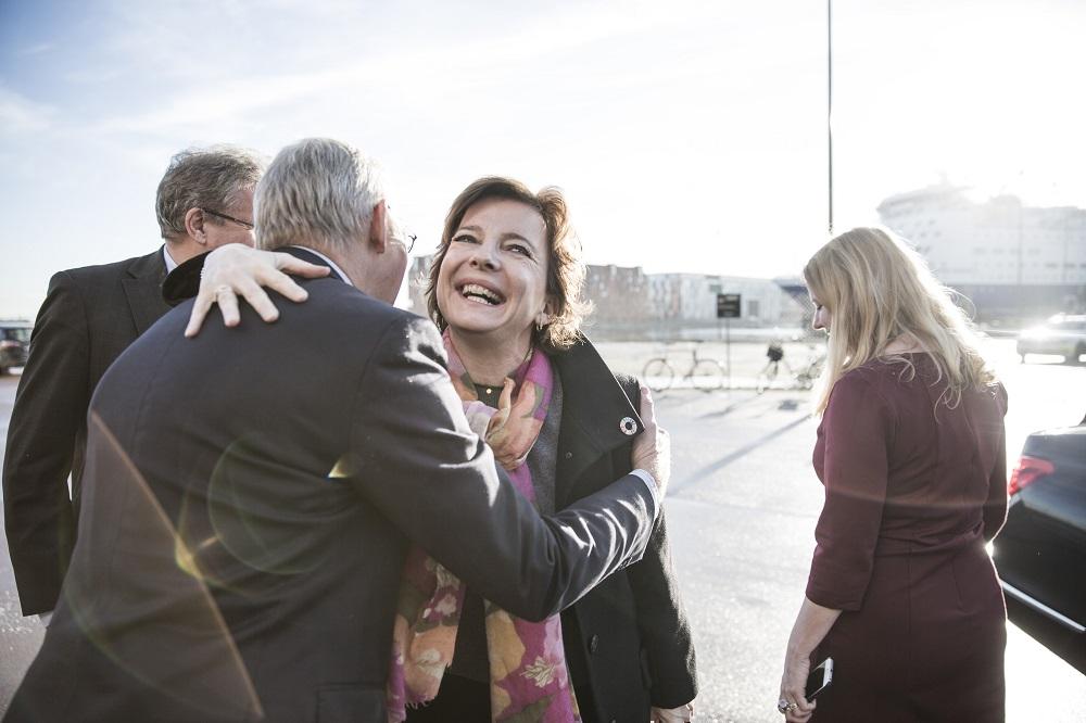 Ligestillingsminister Karen Ellemann var en af hovedtalerne. Foto: Lise Balsby