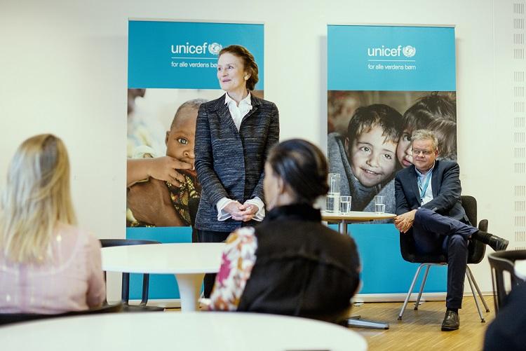 UNICEF topchef Henrietta H. Fore