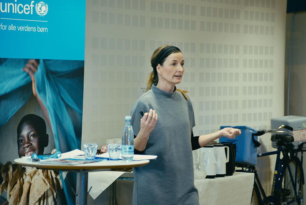 Signe Hamann, kampagnechef i UNICEF Danmark, fortæller om UNICEF Danmarks arbejde