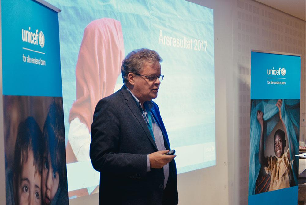 UNICEF Danmarks generalsekretær Steen Andersen fortæller om årsresultatet.