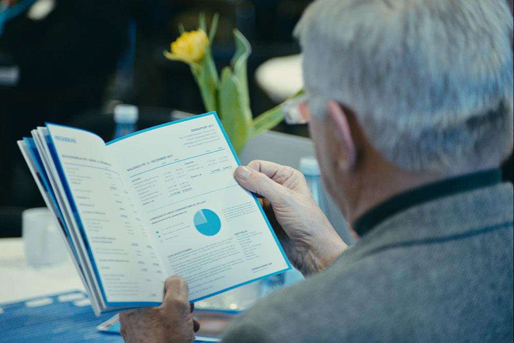 Hvert år i forbindelse med årsmødet offentliggøres årsberetningen for det forgangne år med fakta og historier fra året, der er gået.