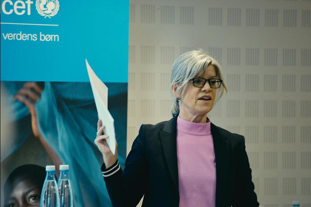 Anne-Mette Friis fortæller om børnerettigheder i Danmark