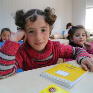 Børn i et klasseværelse
