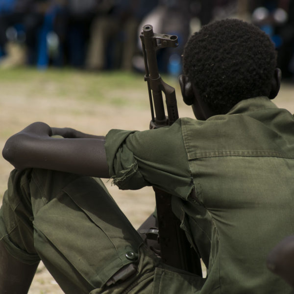 Børnesoldater frigives UNICEF/2018/Chol/Child-soldier/South-sudan