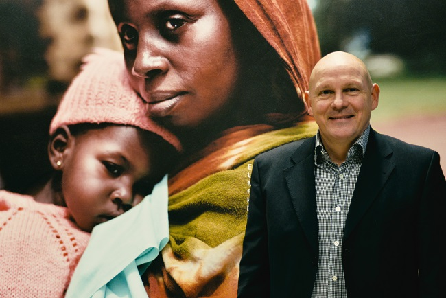 """Sandor Neumann """"UNICEF hjælper virksomheder med at skabe mening"""""""