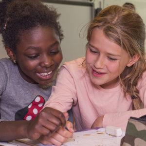 UNICEF Danmark besøger Kildegårdsskolen i Herlev den 13. juni 2018.