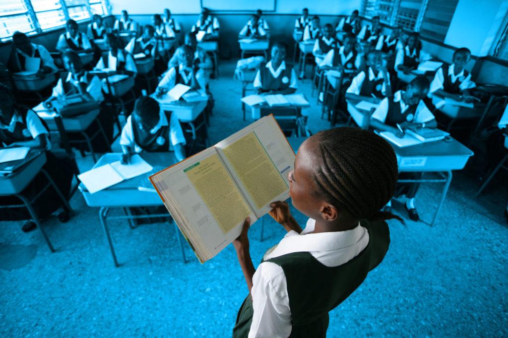pige skole uddannelse