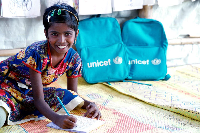 UNICEF/2018/Sokol/Ronhingya/Refugee/Children/Boys/School børnekonventionen