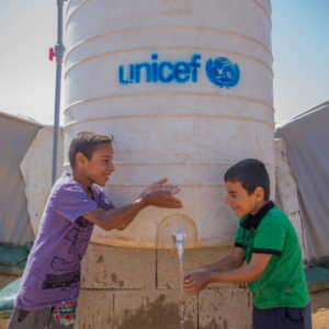 UNICEF/2018/Jeelo/Waterpoint/Boys/Iraq friværdi arv