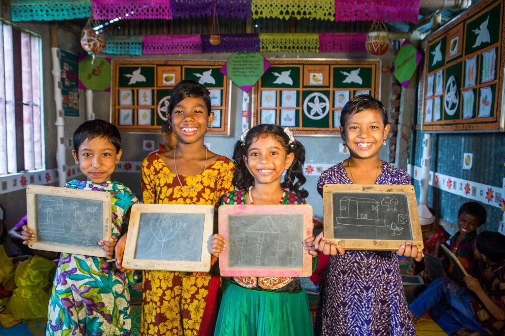 UNICEF støttet uddannelse skole
