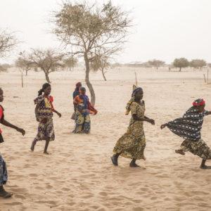 UNICEF/2017/Sokhin/Chad/Football/Girls