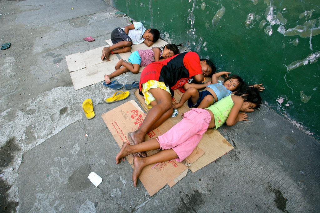 Filippinerne-gadebørn