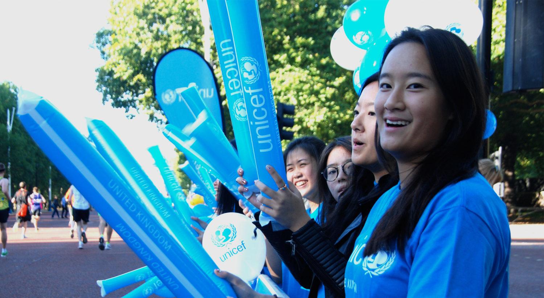 Bliv frivliig i UNICEF