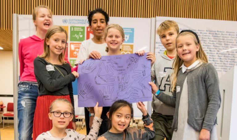 Fredag den 27. oktober 2017 afholdt UNICEF det første