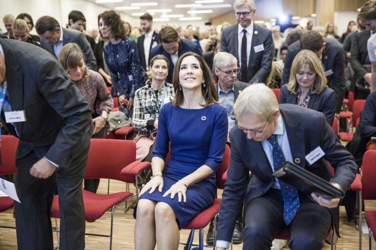 Foto: Lise Balslev/2017. Fornemt besøg af H.K.H. Kronprinsessen på Børnenes Dag, 2017.