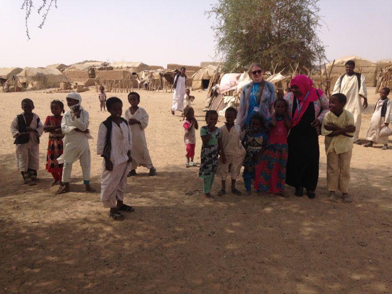 Danske Janneke hjælper børn i Sudan sammen med UNICEF.