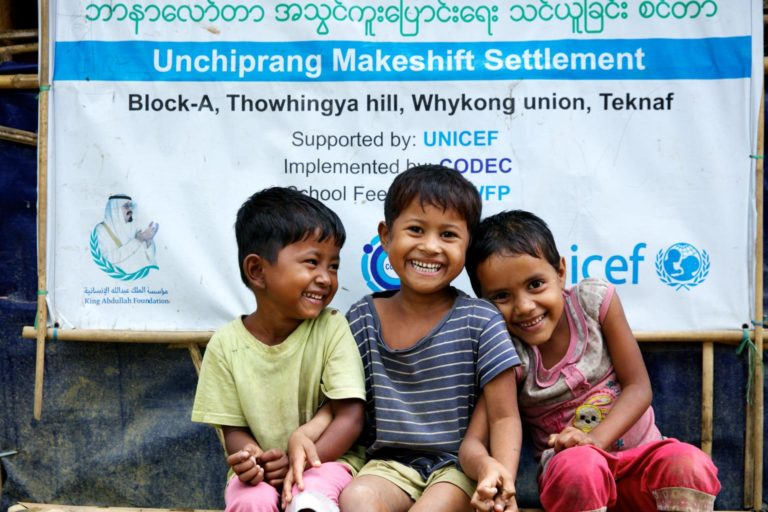 UNICEF/2018/Sujan/Children/Learning-center/Bangladesh
