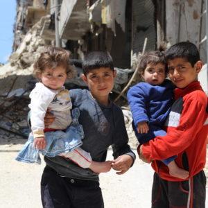 De Syriske børn er mærket af krigens rasen