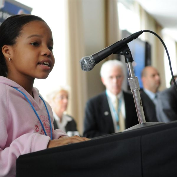 børn stemmer UNICEF/Markisz/2007/Climate-change/Children
