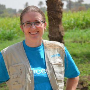 Danske Janneke arbejder for børn i Sudan.
