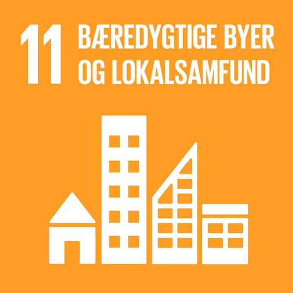 Verdensmål 11: Bæredygtige byer og lokalsamfund