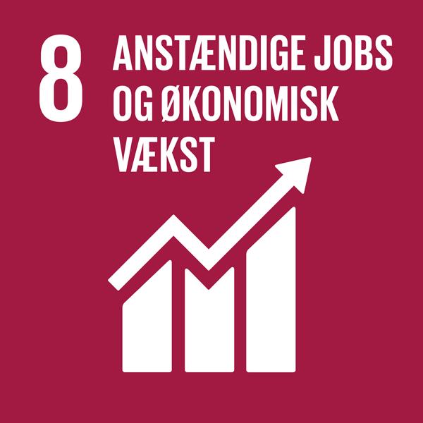 Verdensmål 8: Anstændige jobs og økonomisk vækst