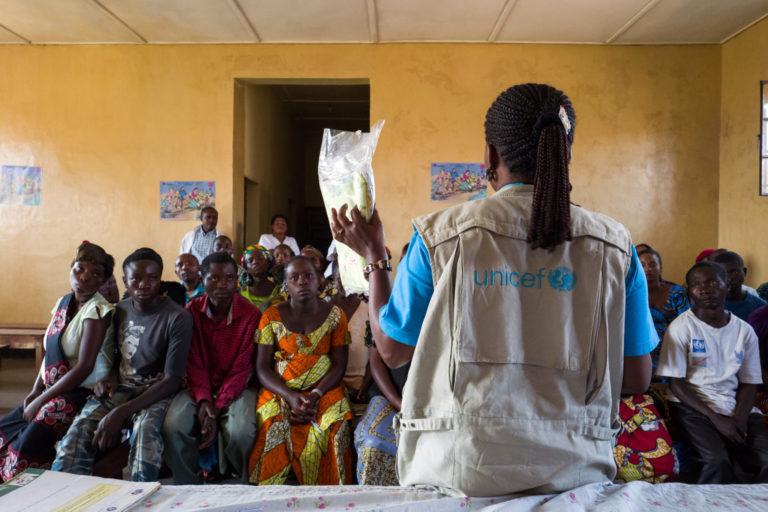UNICEF læge fortæller om fødselsregistrering i Congo UNICEF/2018/Dobourthoumieau/Congo/Birth-registration