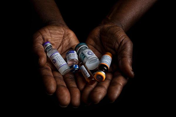 Vacciner indkøbt af UNICEF til verdens børn