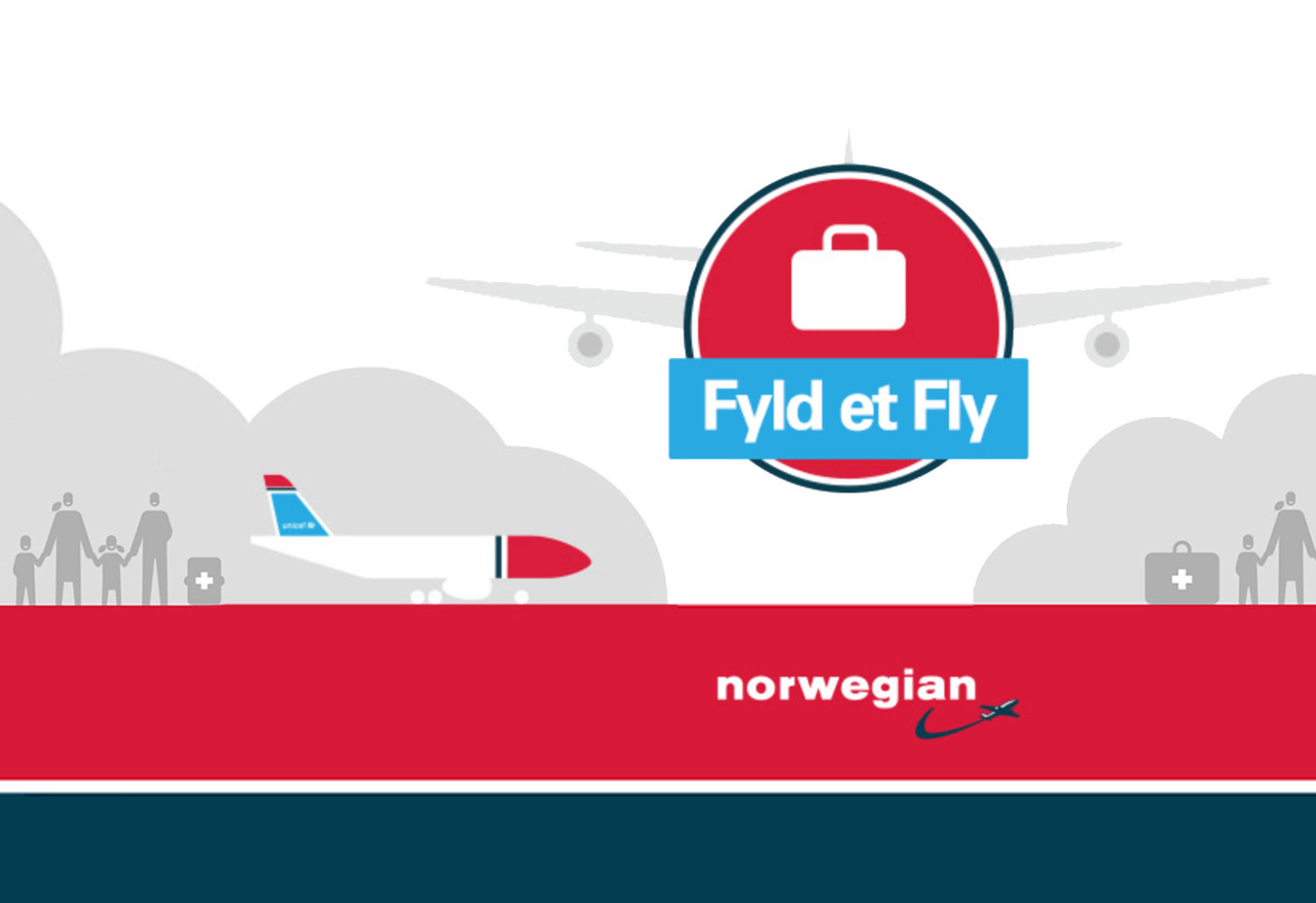 Fyld et fly Norwegian Tchad