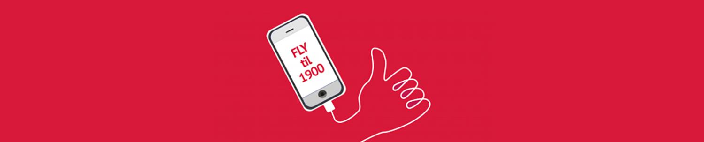 SMS FLY til 1919 og støt med 150 kr.