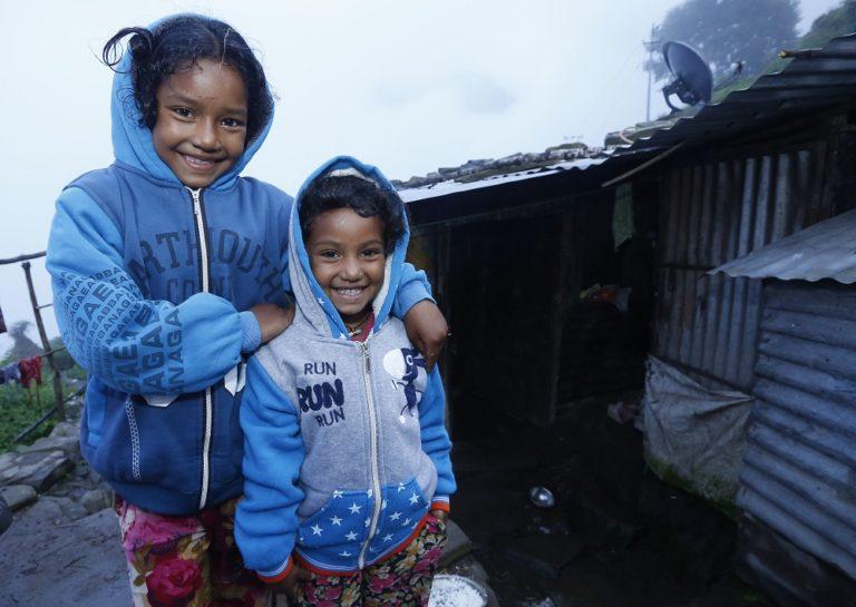 Katastrofe beredskab kan redde børn som Sajina og Shashi