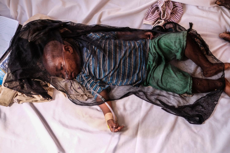 Den prisbelønnede danske fotograf Jan Grarup har været med UNICEF i Somalia.