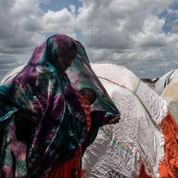 Jan Grarup har været med UNICEF i Somalia og taget billeder af flygtninge i Baidoa