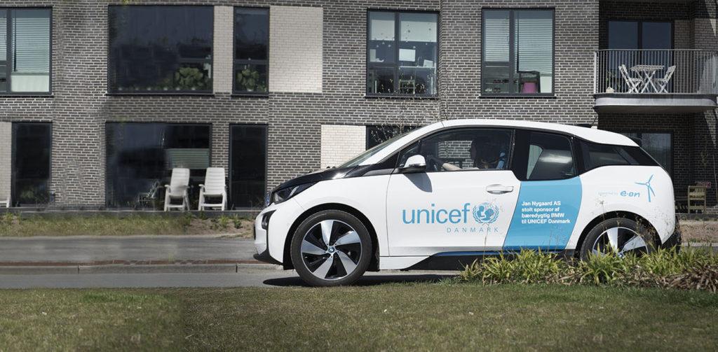 BMW og UNICEF Danmark samarbejder