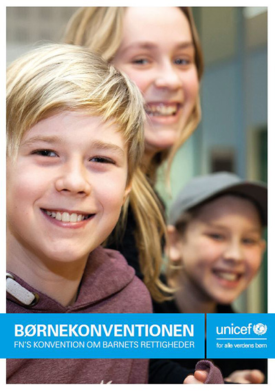 folder med børnekonventionen børnekonventionsfolder