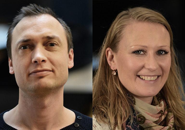 Kristoffer Kargaard Thomsen og Maria Hjort Iversen