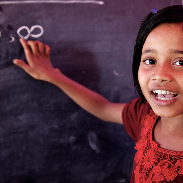 UNICEF kæmper for alle verdens børn kan komme i skole