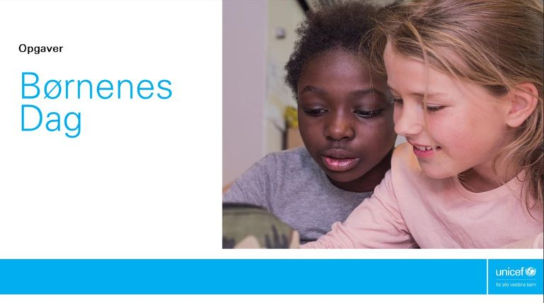Opgaver der hjælper børn med at finde deres stemme