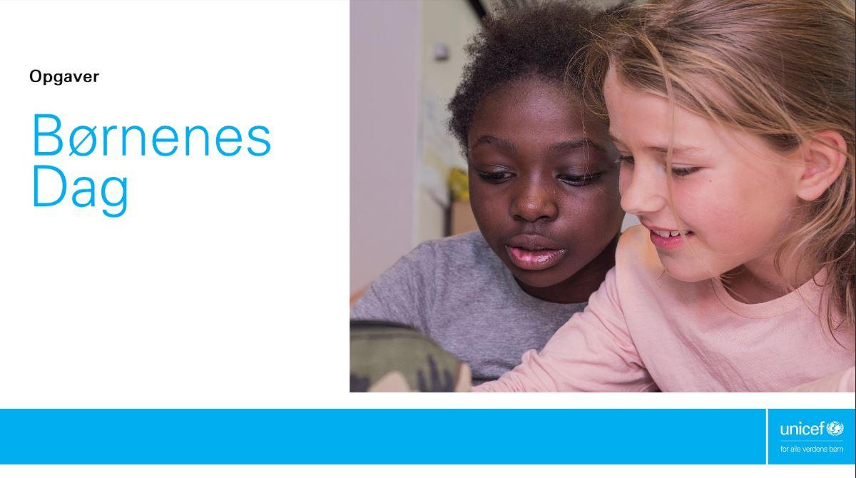 UNICEF Børnenes Dag Opgaver