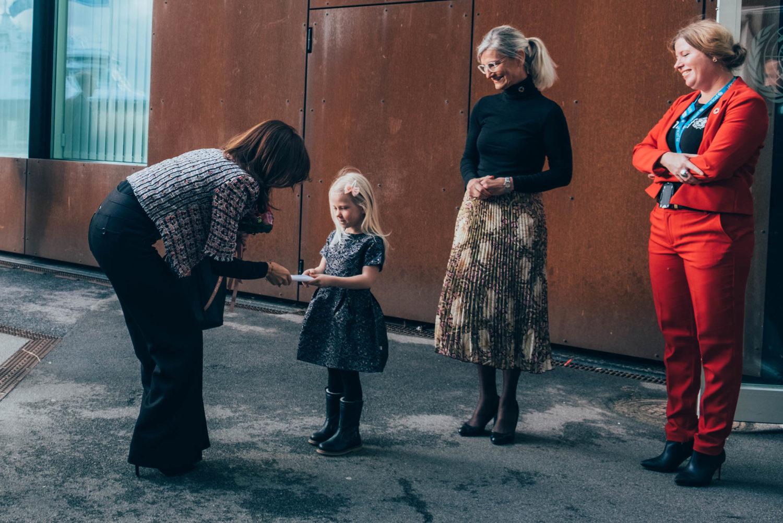 HKH Kronprinsesse Mary var æresgæst ved Børnenes Dag i FN-byen.