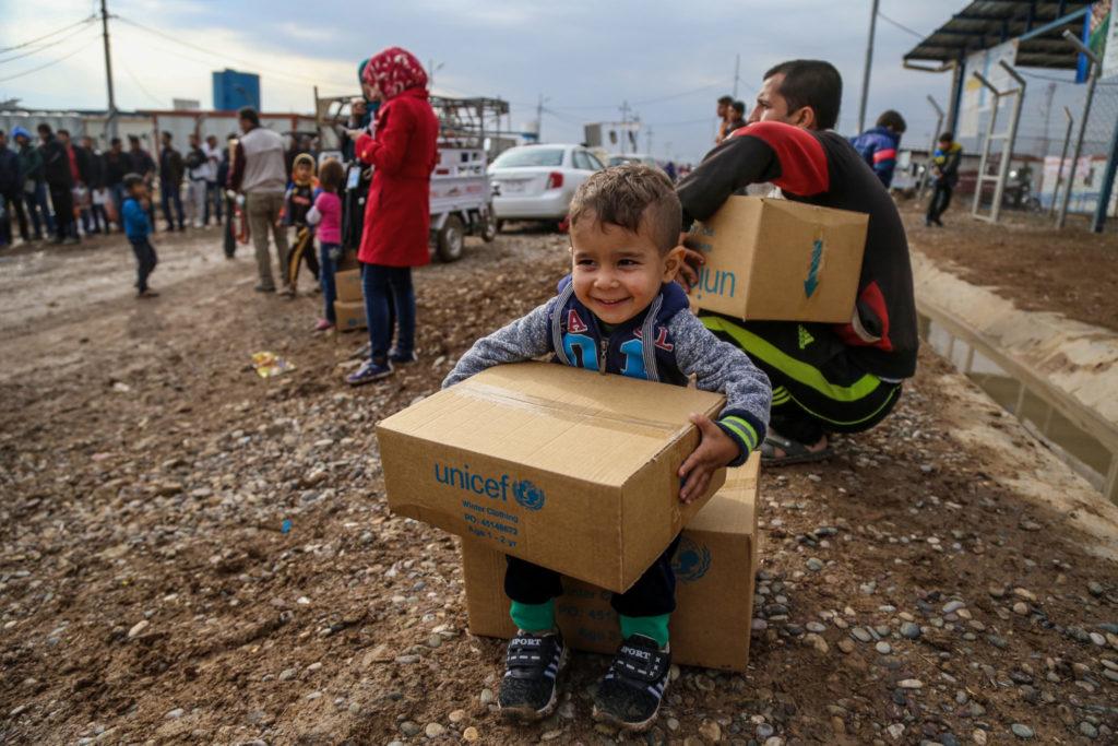 I vinteren 2018 kom sneen igen til de flygtningelejre, hvor de syriske flygtninge tilbringer endnu en vinter.