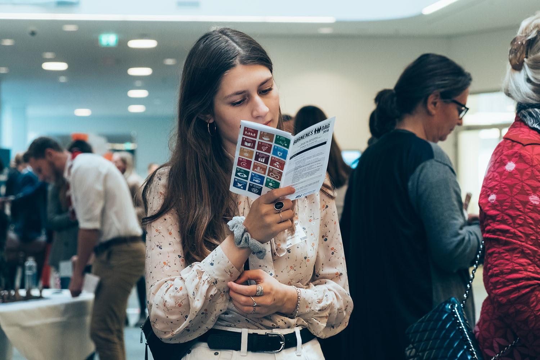 Programmet ved Børnenes Dag i FN-byen bød både på 8 forskellige laboratorier og på taler i det store auditorium