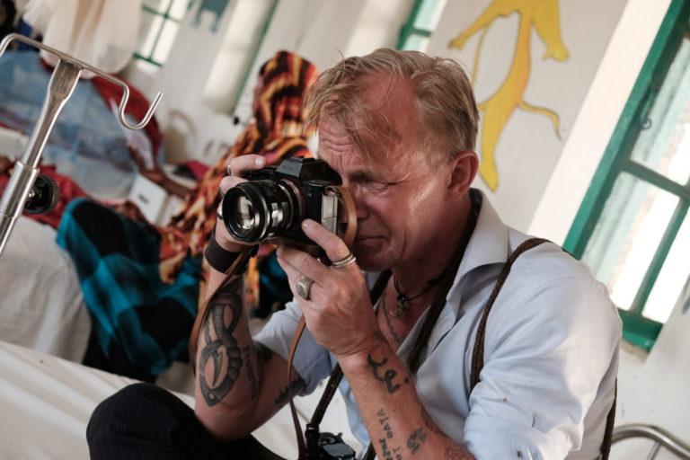 Jan Grarup på hans seneste tur til Somalia med UNICEF Danmark.