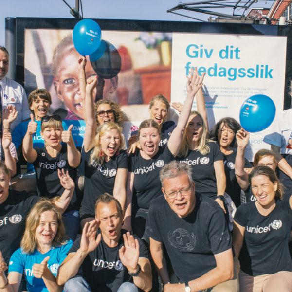 DSB spillede en stor rolle i den store indsamling fra danskerne.