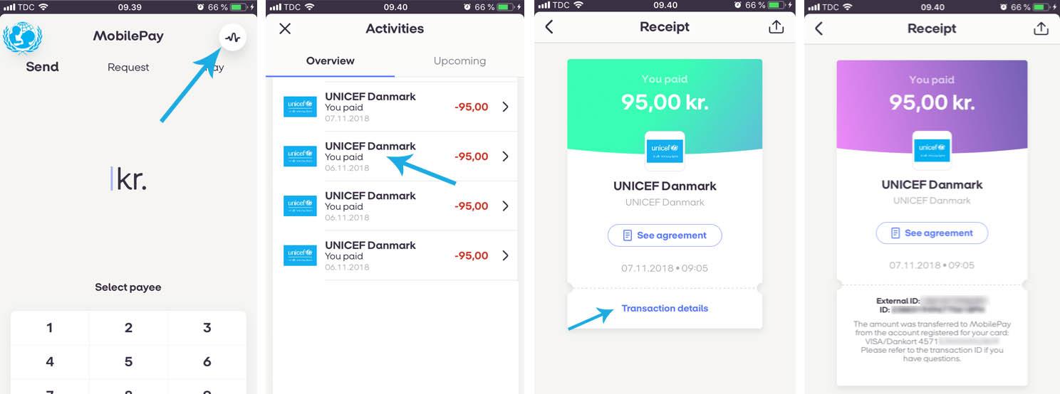 Sådan indberetter du dine donationer i MobilePay og får skattefradrag