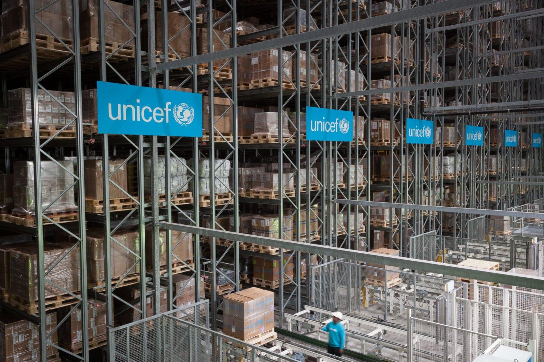 Supply-division-UNICEF-verdenslager-københavn